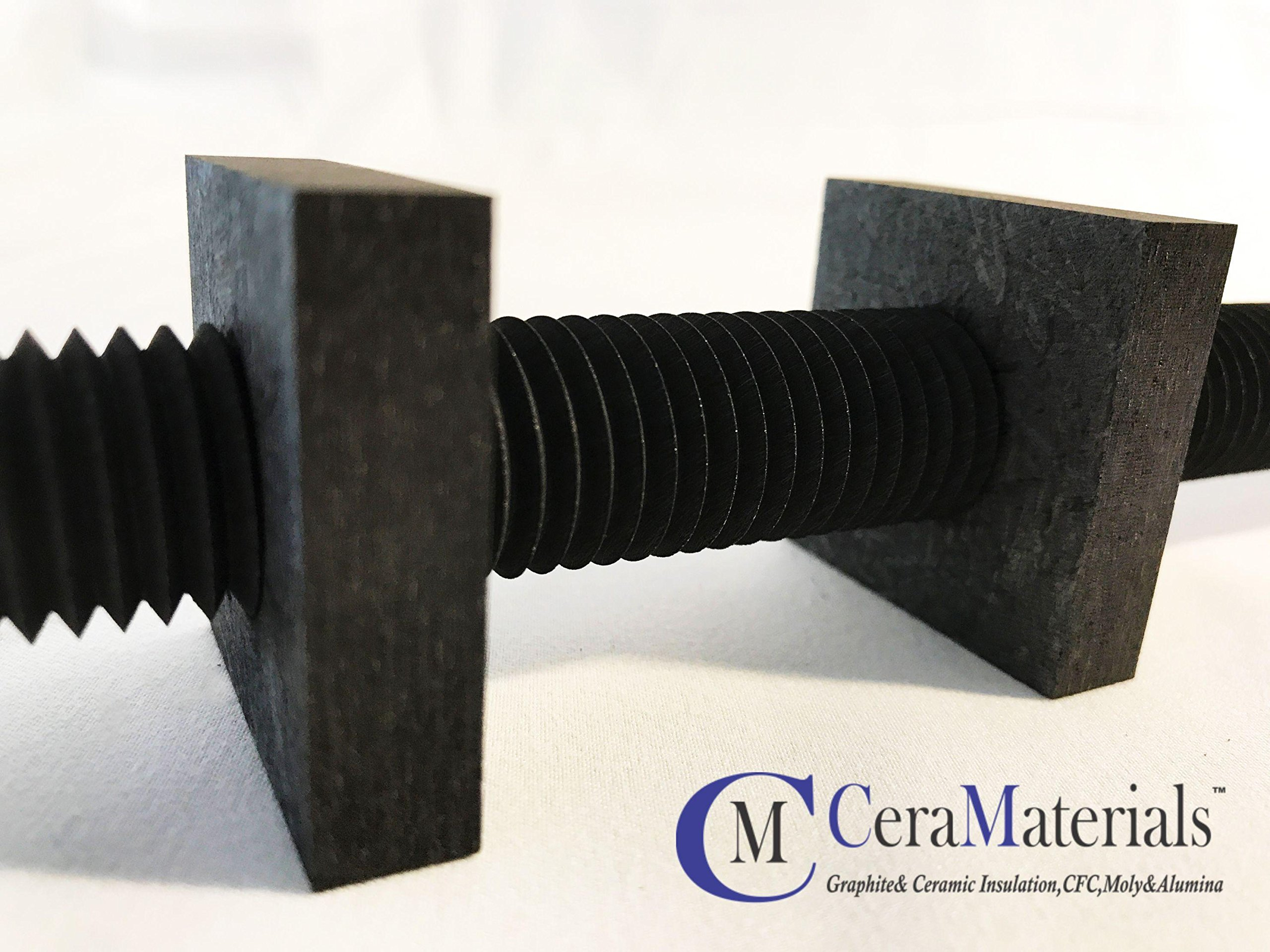 CFC All Thread M6 X 39.4'' (Metric Sizing) by CeraMaterials