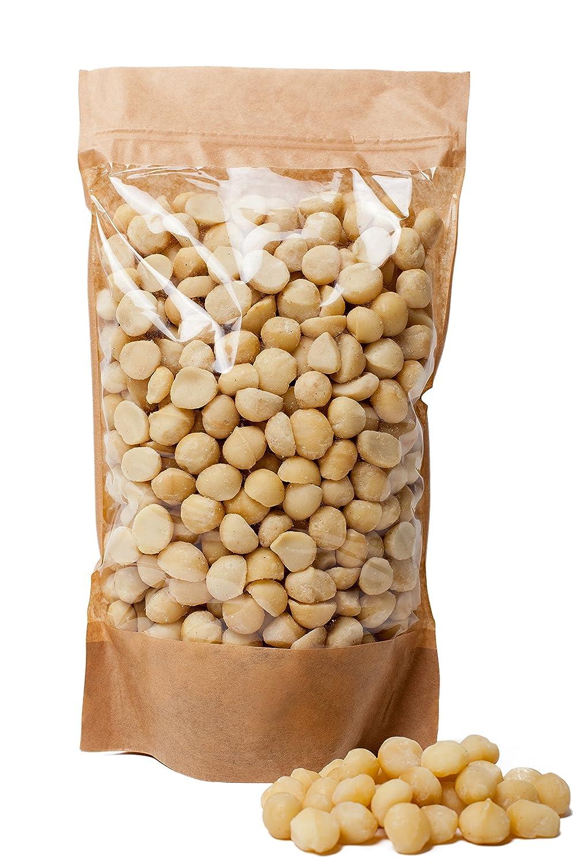 Nueces de macadamia sin procesar, libres de transgénicos, recolectadas del área orgánica (700gr): Amazon.es: Alimentación y bebidas