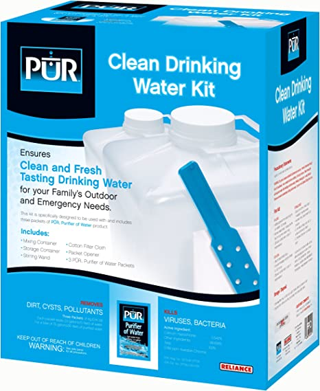 Reliance La dependencia de los Productos Pur Kit de Agua Potable ...