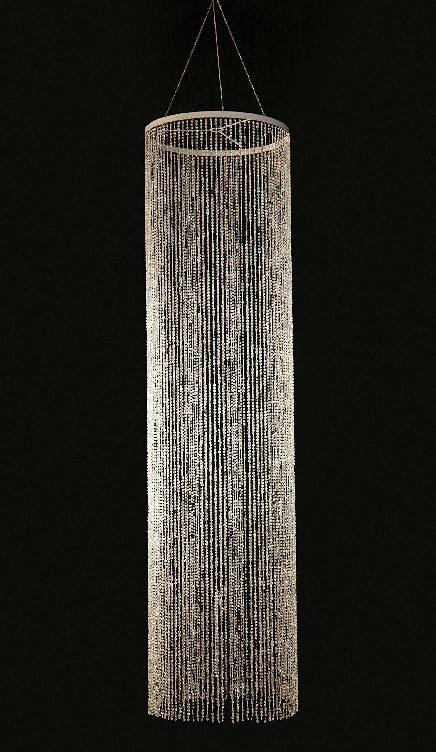 Crystal Column Overlay, 24 Inches x 8 Feet