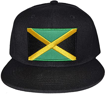 0b202b671eb Harvies Fashion New Jamaica Baseball Cap with Jamaican Flag Hip Hop Snap-Back  Hat (One Size