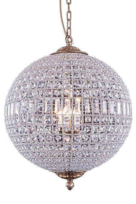 Amazon.com: Kingsley Collection - Lámpara de araña con 5 ...