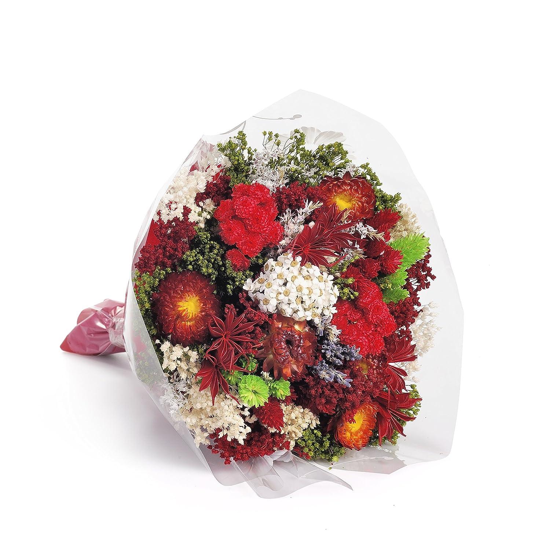 Bouquet-Fantasy- Sanremo dried flowers from the Riviera dei Fiori .Italy (red) Sweet Pea Sanremo Trade S.R.L.