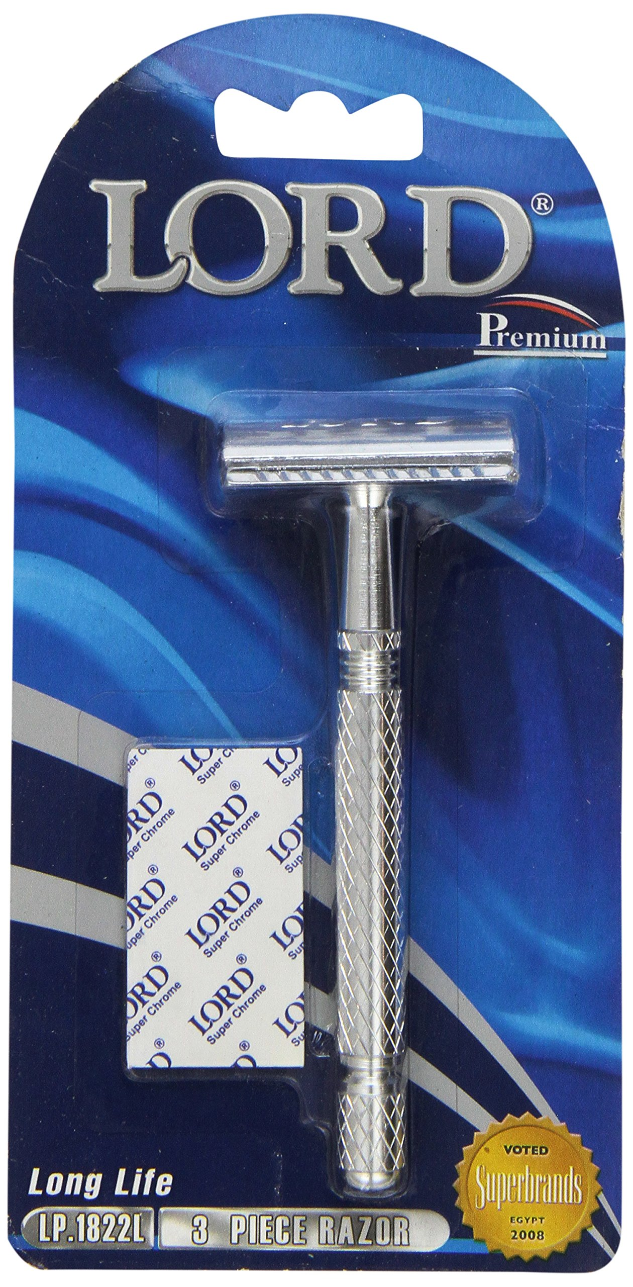 Lord Premium Safety Razor Model LP1822L aka L6