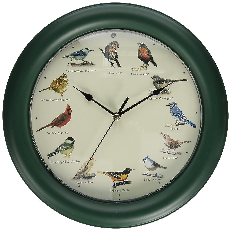 Amazon mark feldstein original singing bird clock 107 inch amazon mark feldstein original singing bird clock 107 inch home kitchen amipublicfo Gallery