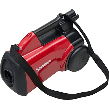 Delightful Sanitaire SC3683B Commercial Canister Vacuum, Red
