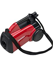 Sanitaire Commercial Canister Vacuum Cleaner -1.20 kW Motor -10 A -2.54 Quart -Bagged -Red
