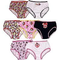 Disney Girls' Minnie Dots 7pk Panty