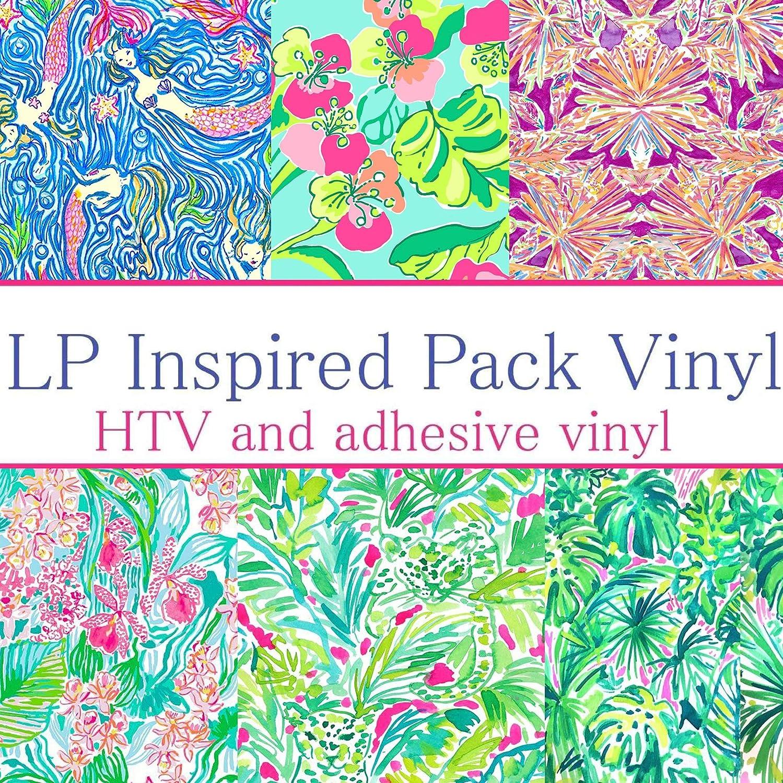 FBA LP Inspired Craft Vinyl Pattern Pack #1 Six Patterns 12x12