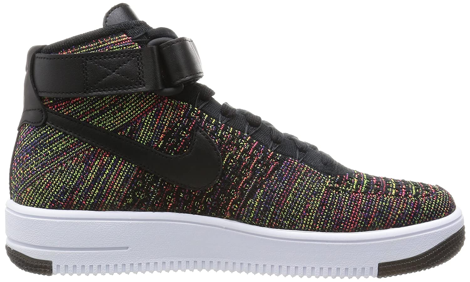 nike air force 1 ultra flyknit nero / raggiante