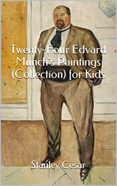 Twenty-Four Edvard Munch\'s Paintings (Collection) for Kids
