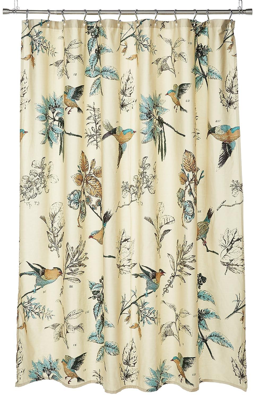 Amazon Madison Park Quincy Printed Cotton Shower Curtain Khaki 72x72 Home Kitchen