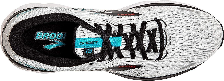 Brooks Ghost 13, Scarpe da Corsa Uomo Grey Black Capri