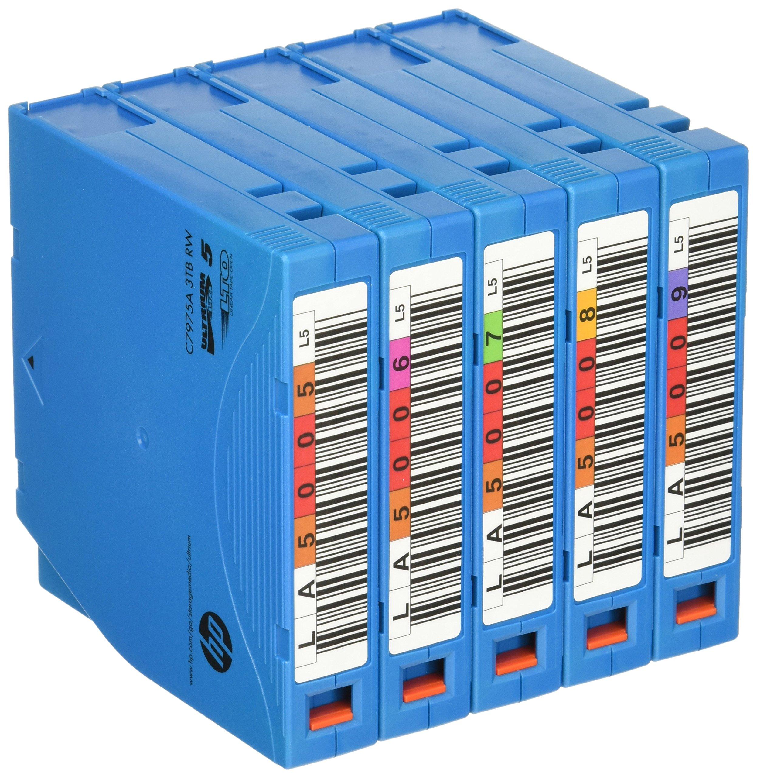 Hewlett Packard Hp Lto-5 Ultrium Eco Case 3 Tb Tape (Pack Of 5)
