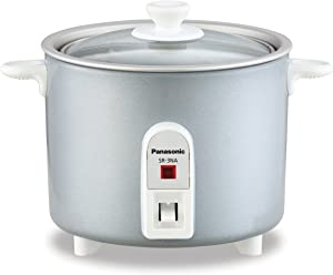 Panasonic SR-3NAL Rice, Steamer & Multi-Cooker, 1.5-Cup (Uncooked), Cups 3 Cups Cooked, Silver
