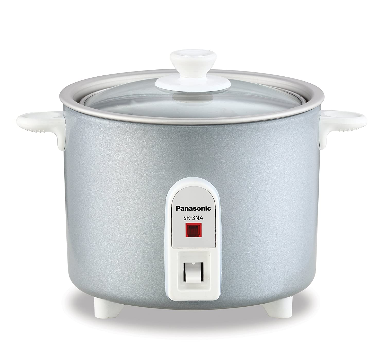 Panasonic SR-3NAL 1.5-Cup (Uncooked) Automatic Rice Cooker, Silver