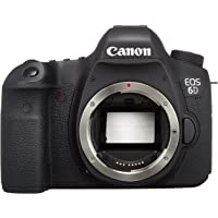 Canon EOS 6D 20.2 MP CMOS Digital SLR Camera with 3.0-Inch LCD (Body Only) - Wi-Fi Enabled - International Version (No warranty)