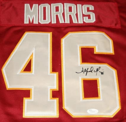d22e1dd76e7 Image Unavailable. Image not available for. Color: Alfred Morris Autographed  Jersey - Witness ...