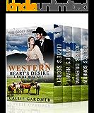 Western Heart's Desire Boxset: 4 Book Inspirational Western Historical Romance Box Set