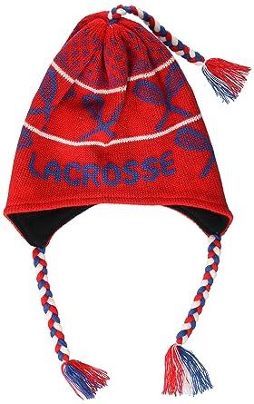 fb5b485b1 Fleece Lined Knit Hat | Lacrosse Design Beanie | Aviator Winter Hat