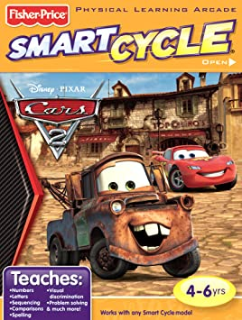 Fisher-Price SMART CYCLE Software - Disney/Pixar Cars 2 by Fisher-Price