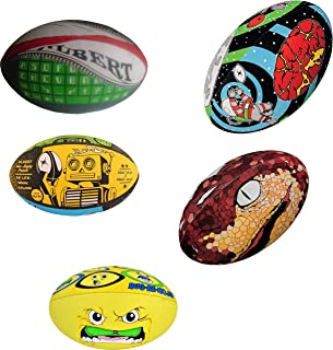 Gilbert Espace Wham Robo Rug-Be-Moji Tech Snakebite Assortis Set Balles Of 5 Taille 5 Gilbert Ball