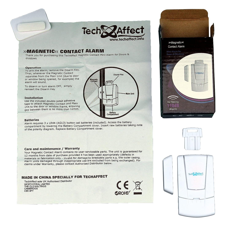 Puerta/ventana alarma - alarma contra magnético Contact ...