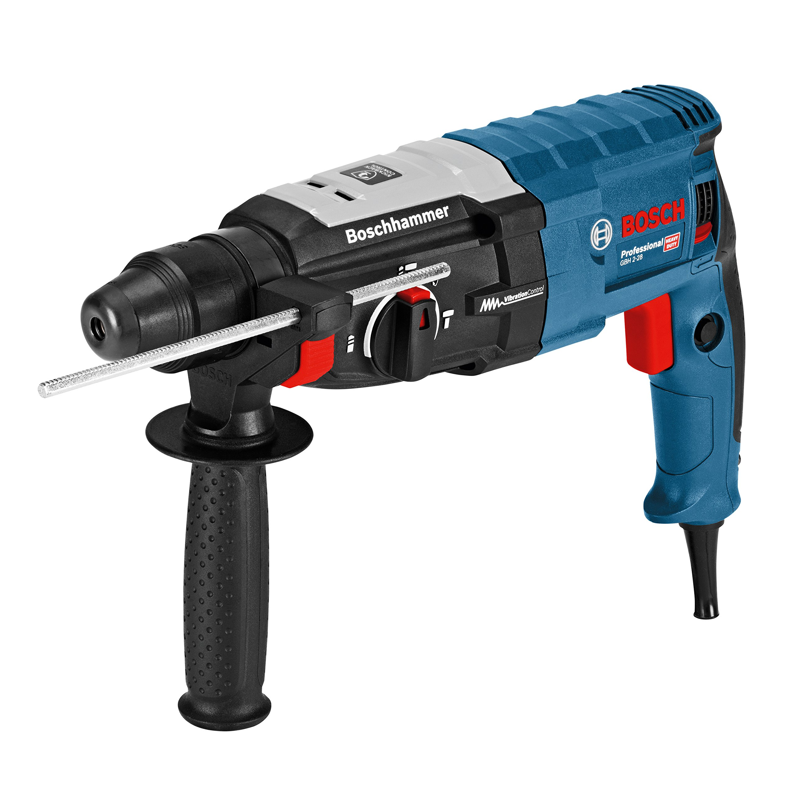 Bosch Professional 0611267500 Martillo perforador con SDS-plus Negro, Azul product image