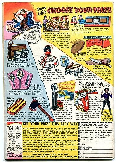 Amazoncom Blue Bolt Comics V7 6 1946 Dick Cole Sgt Spook Gvg