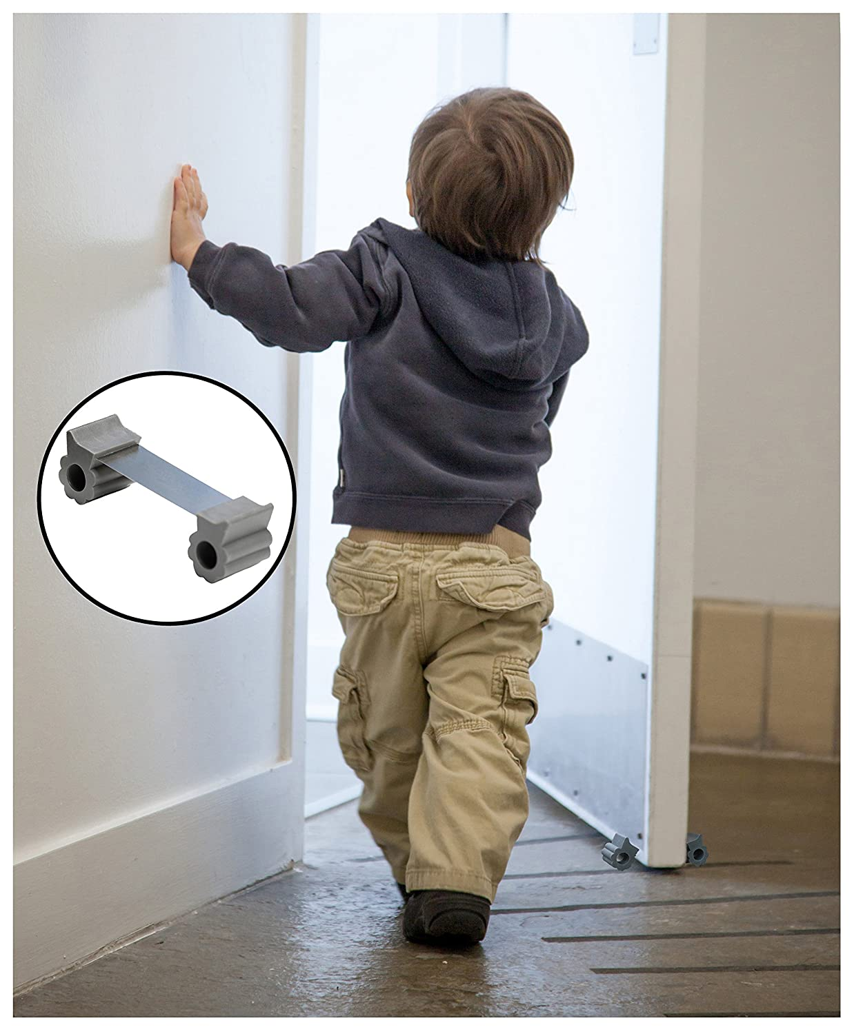 Amazon.com  GTP Door Stopper - Revolutionary New Design Stops Door Movement Forward And Backward - Holds Doors Securely In Place - 2 Highest Quality ... & Amazon.com : GTP Door Stopper - Revolutionary New Design Stops ... pezcame.com