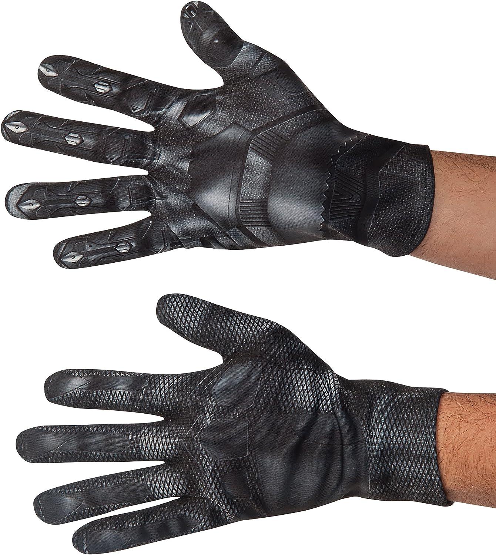 Civil War Captain American Black Panther Adult Black Claw Gloves Adult