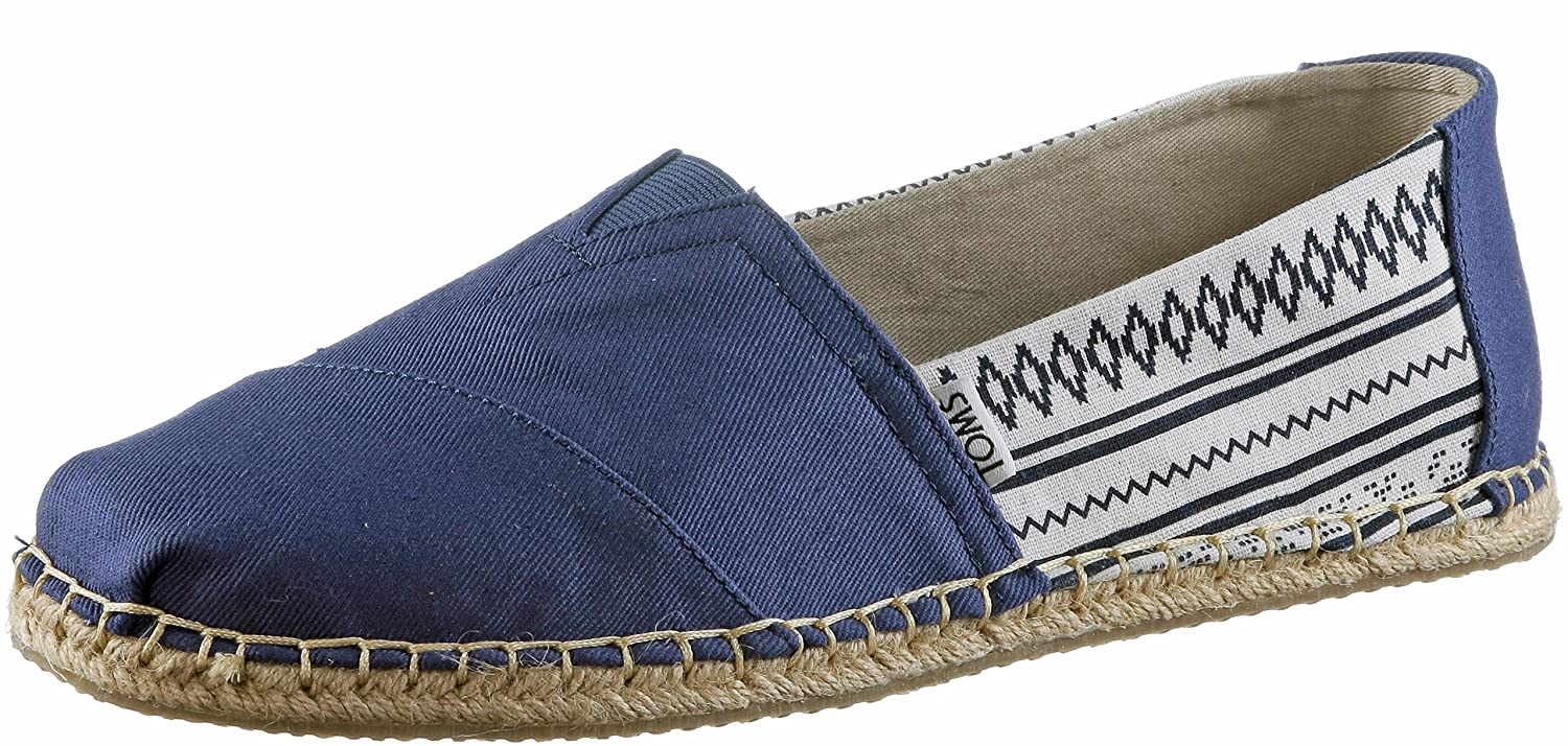 Men's Blanket Stitch Alpargata Novelty Textile Espadrille