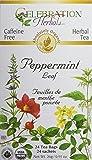 Celebration Herbals Peppermint Leaf Tea Organic 24 Tea Bag, 26Gm