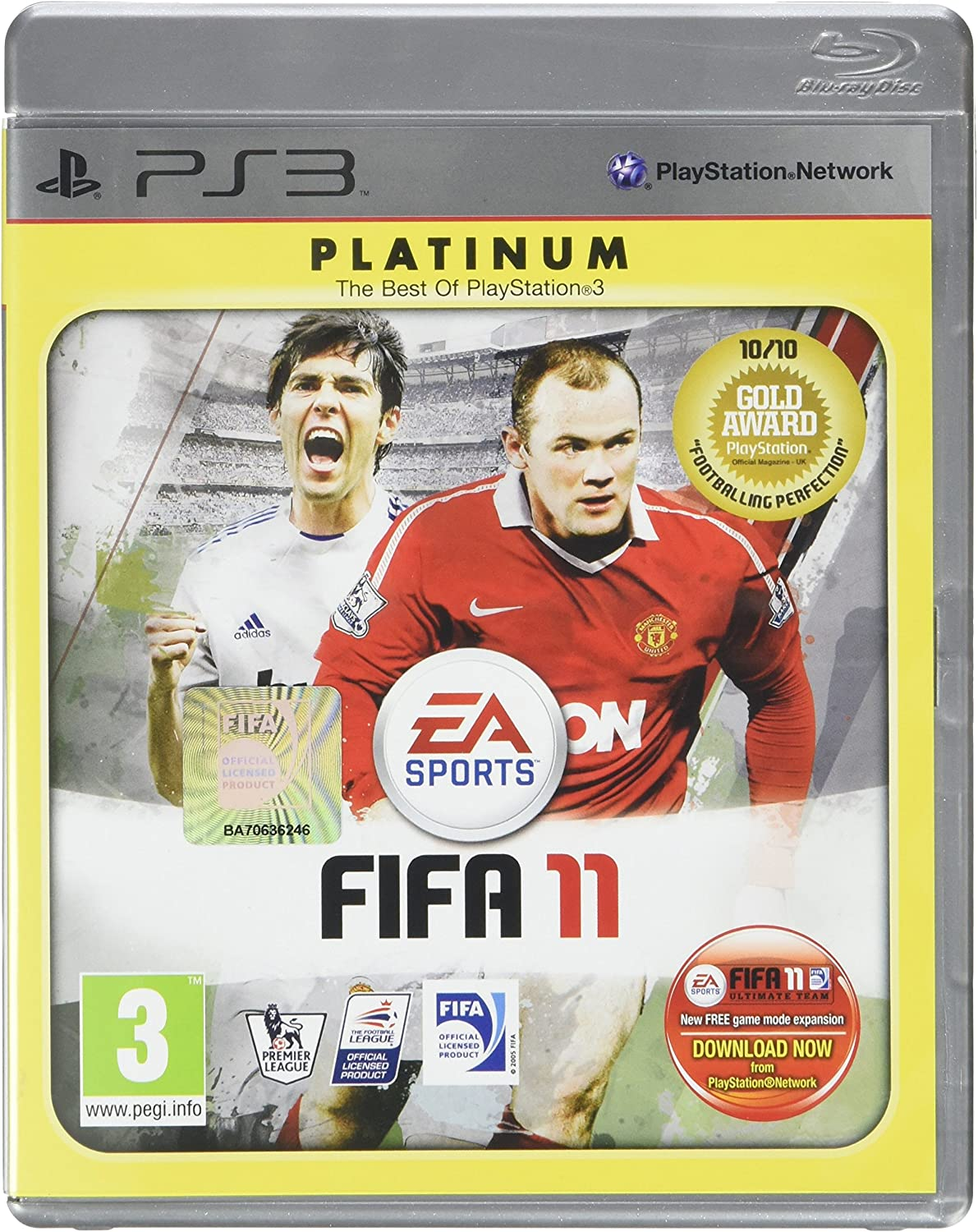 Amazon com: Fifa 11 Ps3: Video Games