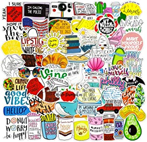 102pcs Water Bottle Funny Vine Stickers, Fresh Vine Stickers for Hydro Flask Laptops Computer Phones Meme Sticker Waterproof Aesthetic Vinyl Decals for Teens Adult