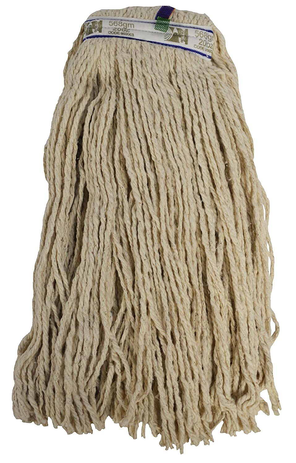341 g Pack of 50 Cut End SYR 991743 Traditional PY Cotton Kentucky Mop Head