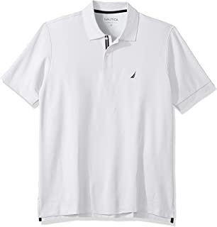 2949484d2 Nautica Men's Big and Tall Classic Fit Short Sleeve Solid Performance Deck Polo  Shirt