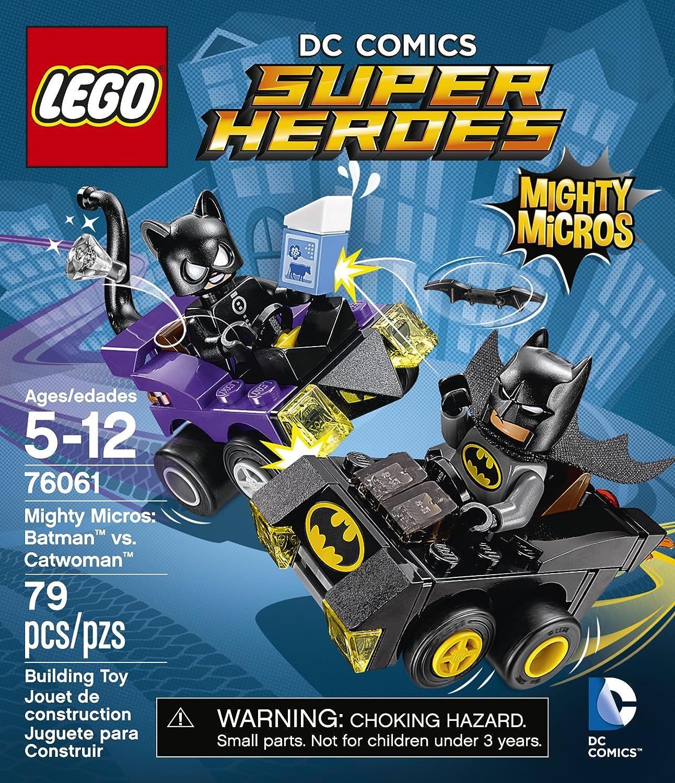 LEGO DC Comics Super Heroes 76061 Mighty Micros Batman vs Catwoman New Sealed