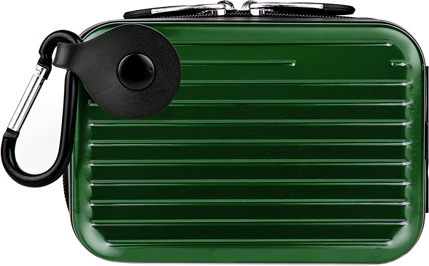 Vangoddy Pascal Mettalic Metal Case for Panasonic Lumix DMC TS30 Digital Cameras and Screen Protector Green