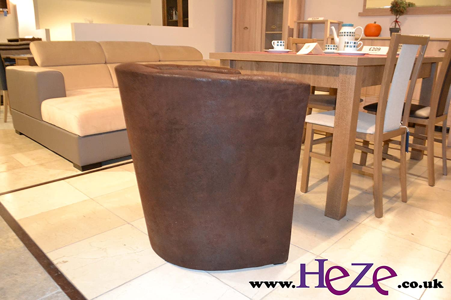 Heze Ltd Stylish and elegant tub chair York lovely vintage style PlayStation chair