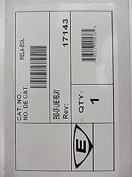 Edwards RELA-EOL - Dispositivo de relé de Fin de Línea, polarizado: Amazon.es: Electrónica