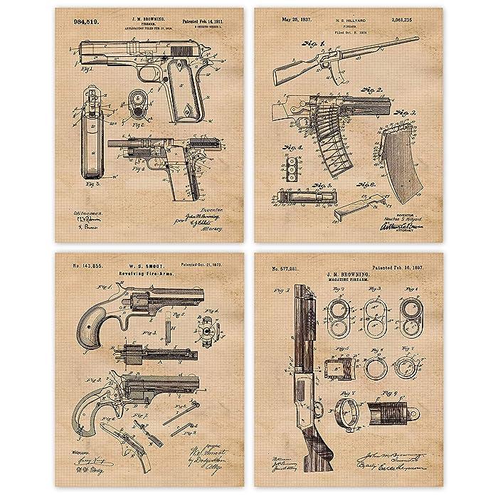 Top 8 Antique Gun Art And Decor