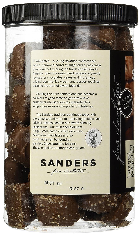 Amazon.com : Sanders Milk Chocolate Sea Salt Caramels - 36 Oz ...