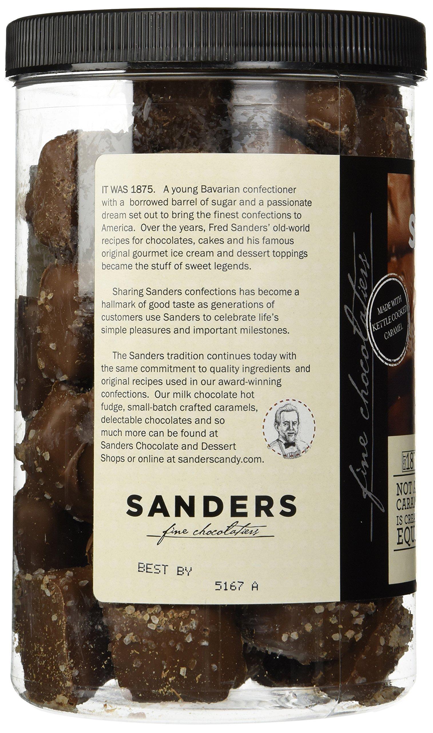 Sanders Milk Chocolate Sea Salt Caramels - 36 Oz. (2.25 lb) by Sanders® (Image #4)