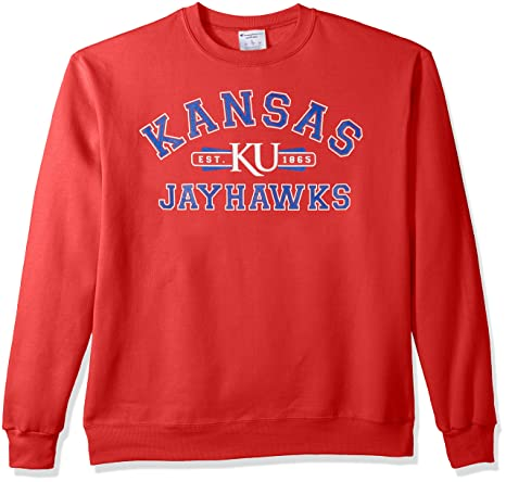 f2db7b36 Image Unavailable. Image not available for. Color: Champion NCAA Kansas  Jayhawks ...