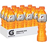 Gatorade Orange Ice Sports Drink, 12 x 600ml