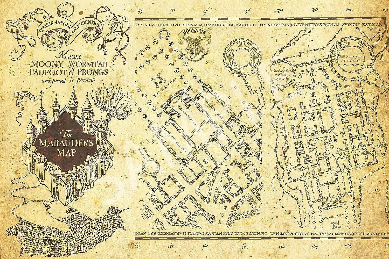 Amazon Com Best Print Store Harry Potter Inspired Hogwarts