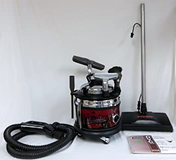Filter Queen Majestic Triple Crown Canister Vacuum W Power Head Nozzle Attachments