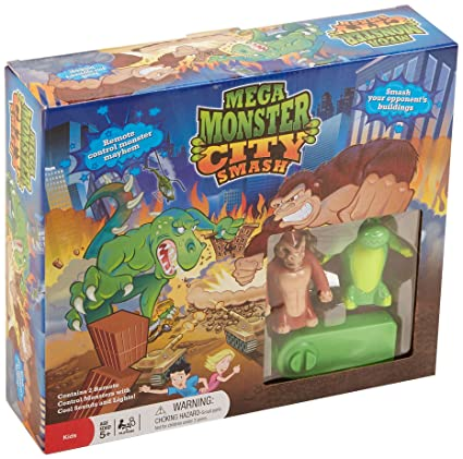 Amazon.com: Mega Monster City Smash Juego: Toys & Games