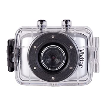 Amazon.com : Vivitar DVR785HD-BLU 5MP Pro Waterproof Action ...
